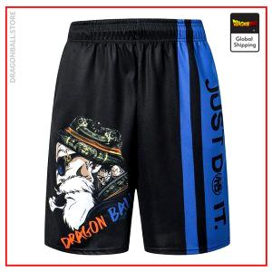 Premium Master Roshi Shorts DBM2806 S Official Dragon Ball Merch