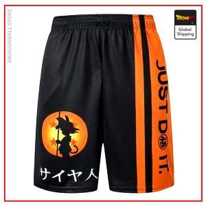 Premium Kid Goku Shorts DBM2806 S Official Dragon Ball Merch