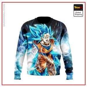 SSGSS3 Goku Sweatshirt DBM2806 US S Official Dragon Ball Merch