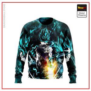 SSGSS Goku & Vegeta Fusion Sweatshirt DBM2806 S Official Dragon Ball Merch