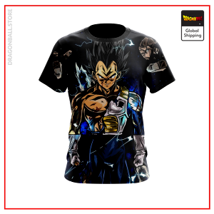 (DBMerch) Vegeta T-Shirt - Normal / Super Saiyan / Super Saiyan God DBM2806 US M / Normal Official Dragon Ball Merch