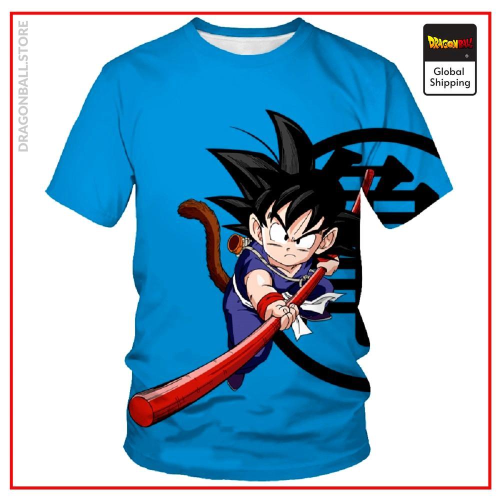 2021 Summer Fashion New Men's T-shirt Anime Turtle Character Dragon Ball 3D Printing Children's Casual Short Sleeve Top XXS-6XL