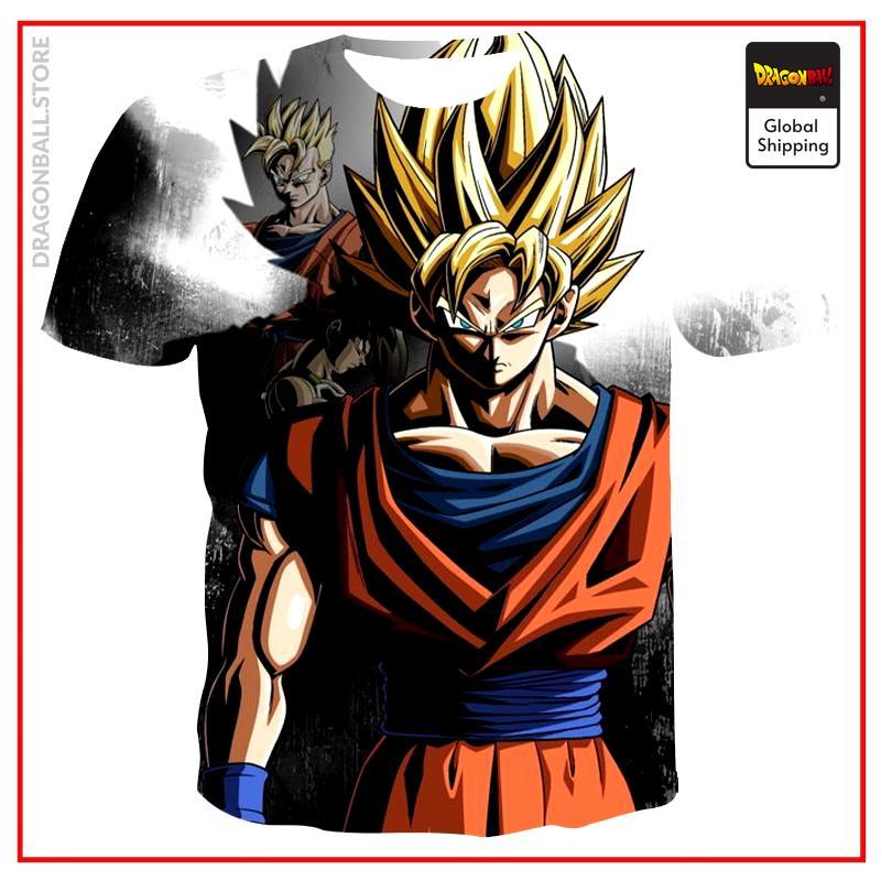 2021 Summer Fashion New Super Luminous Dragon Ball 3D Printing Anime Men's Short Sleeve Trend Casual Couples T-shirt Apparel