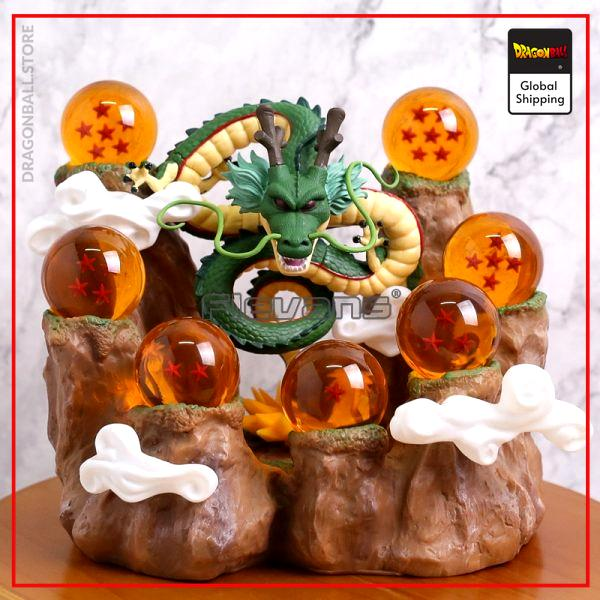 DBZ Shenron 7 Stars Crystal Balls Mountain Stand Collectible Statue Figure Model Toy - Dragon Ball Store