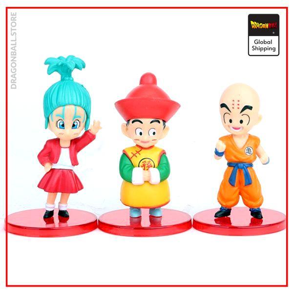 DBZ Son Goku Trunks Vegeta Bulma Upa Action Figures Kulilin Pan Piccolo Chichi Anime Figurines Kids 2 - Dragon Ball Store