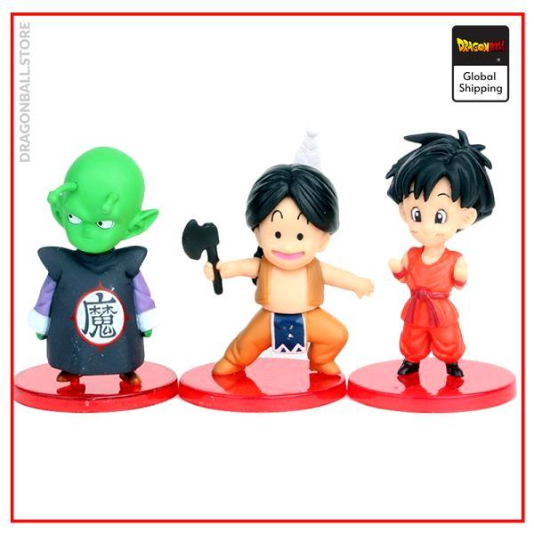 DBZ Son Goku Trunks Vegeta Bulma Upa Action Figures Kulilin Pan Piccolo Chichi Anime Figurines Kids 4 - Dragon Ball Store