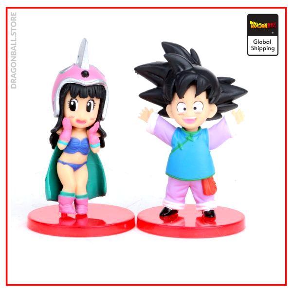 DBZ Son Goku Trunks Vegeta Bulma Upa Action Figures Kulilin Pan Piccolo Chichi Anime Figurines Kids 5 - Dragon Ball Store