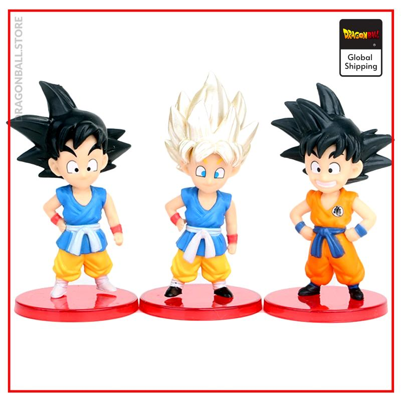 DBZ Son Goku Trunks Vegeta Bulma Upa Action Figures Kulilin Pan Piccolo Chichi Anime Figurines Kids Toys for Children 13pcs/set