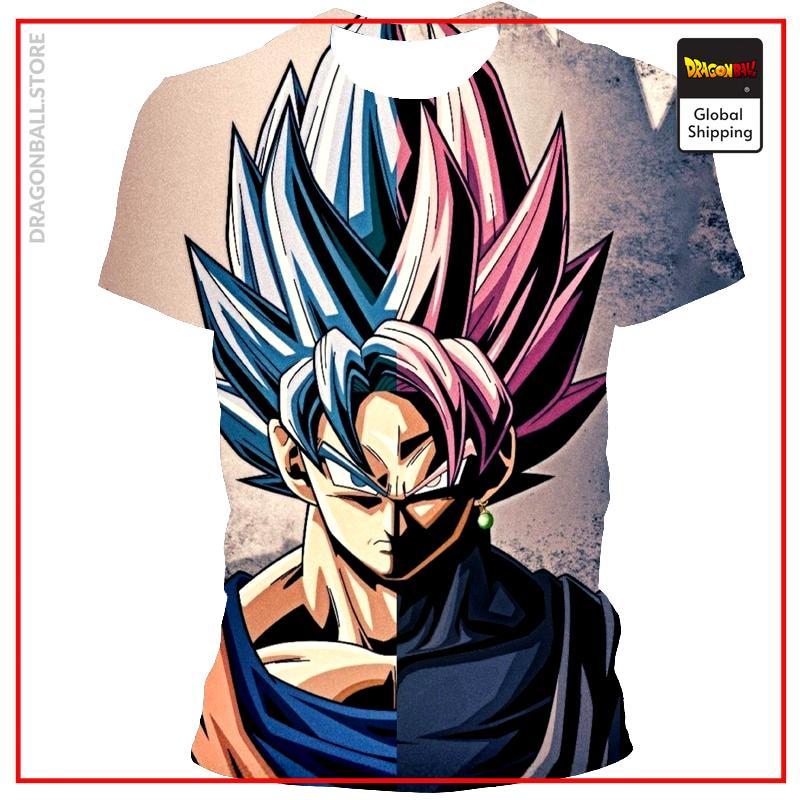 Summer Boutique 3D Printing Japanese Anime Dragon Ball Men's T-shirt Fashion Casual Short Sleeve