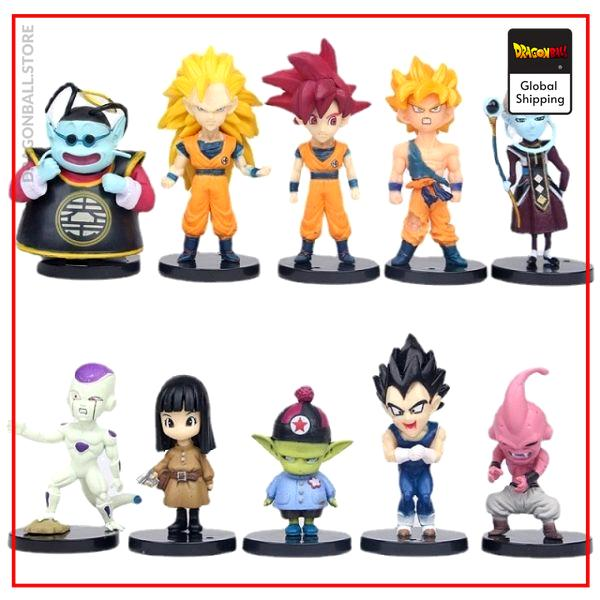 21 Styles sets Anime Dragon Ball Z Model Figure Toy Gift Super Saiyan Goku Vegeta Trunks 10.jpg 640x640 10 - Dragon Ball Store